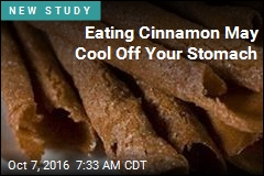 Eating Cinnamon May Cool Off Your Stomach