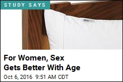 For Women, Sex Gets Better With Age