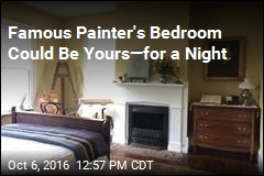 Famous Painter's Bedroom Could Be Yours—for a Night