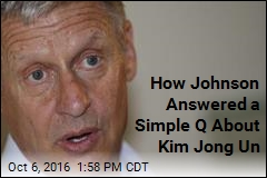 Maybe Johnson Knows N. Korea Leader's Name, Maybe He Doesn't