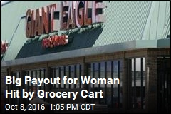 Woman Hit by Grocery Cart Awarded $1.2M