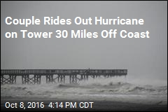 Couple Rides Out Hurricane Matthew on Coast Guard Tower