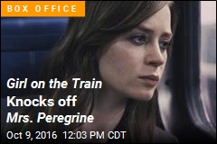 Girl on the Train Knocks off Mrs. Peregrine