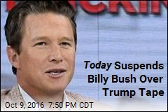 Today Suspends Billy Bush Over Trump Tape