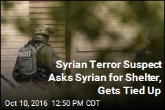 Syrian Terror Suspect Asks Syrian for Shelter, Gets Tied Up