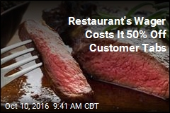 Restaurant Promo May Have Been Big Mis-Steak