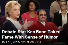 Debate Star Ken Bone Takes Fame With Sense of Humor