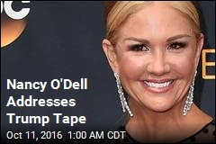 Nancy O'Dell Addresses Trump Tape on ET