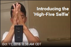 Introducing the 'High-Five Selfie'