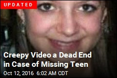 Creepy YouTube Video May Show Missing Teen