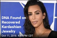 DNA Found on Recovered Kardashian Jewelry