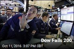 Dow Falls 200