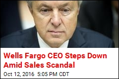 Wells Fargo CEO Steps Down Amid Sales Scandal