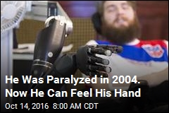 Quadriplegic Feels Hand Again Thanks to Brain Stimulation