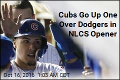 Cubs Go Up One Over Dodgers in NLCS Opener