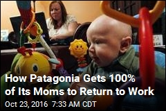 How Patagonia Gets 100% of Its Moms to Return to Work