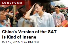 China's Version of the SAT Is Kind of Insane