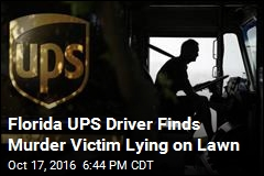Florida UPS Driver Finds Murder Victim Lying on Lawn