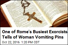 In Windowless Room, He Does Exorcism After Exorcism