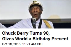 Chuck Berry Turns 90, Gives World a Birthday Present