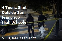 4 Shot Outside San Francisco High Schools
