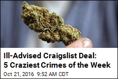 Ill-Advised Craigslist Deal: 5 Craziest Crimes of the Week