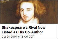 After 400 Years, Shakespeare Co-Writer Gets Credit