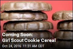 Coming Soon: Girl Scout Cookie Cereal