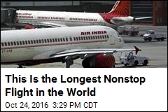 This Is the Longest Nonstop Flight in the World