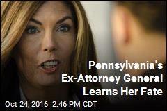 Pennsylvania's Ex-Attorney General Learns Her Fate
