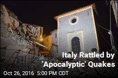 Italy Rattled by 'Apocalyptic' Quakes