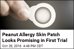 Peanut Allergy Skin Patch Looks Promising in First Trial