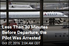 Cops: Pilot Turned Up Drunk for Delta Flight