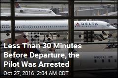 Cops: Pilot Turned Up Drunk for Delta Flight