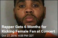 Rapper Found Guilty of Kicking Female Fan