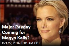 Megyn Kelly's New Contract Could Top $20M
