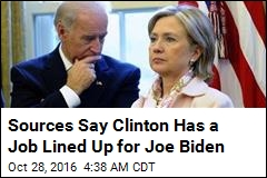 Clinton Considering Biden for State, Sources Say