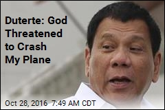 Duterte: God Said I'd Better Stop Cursing or Else