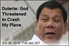 Duterte: God Said I'd Better Stop Cursing or Else