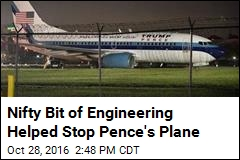 Nifty Bit of Engineering Helped Stop Pence's Plane