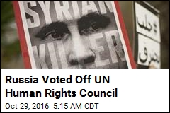 Russia Voted Off UN Human Rights Council