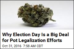 Pot Legalization Effort's Next Target: 'Puritanical' Northeast