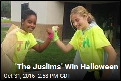 'The Juslims' Win Halloween