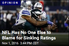 NFL Ratings Are Sinking Because It's Bad Reality TV