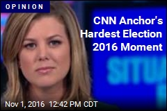 CNN Anchor's Hardest Election 2016 Moment