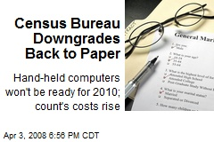 Census Bureau Downgrades Back to Paper