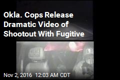 Cops Release Dramatic Video of Oklahoma Shootout