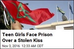 Teen Girls Face Prison Over a Stolen Kiss
