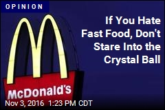 Our Foodie Future Will Be Ruled by the Golden Arches