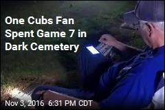 Cubs Fan Keeps Pact to Watch World Series With Dead Father